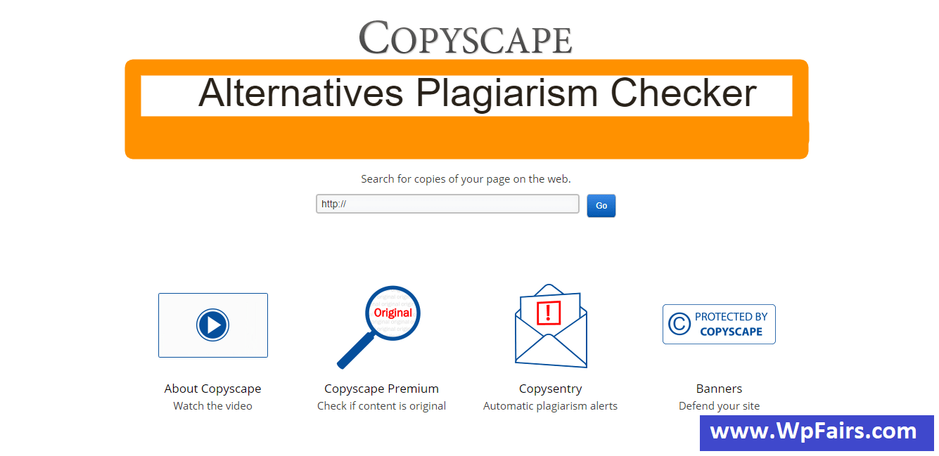 Copyscape Alternatives Plagiarism Checker Tools